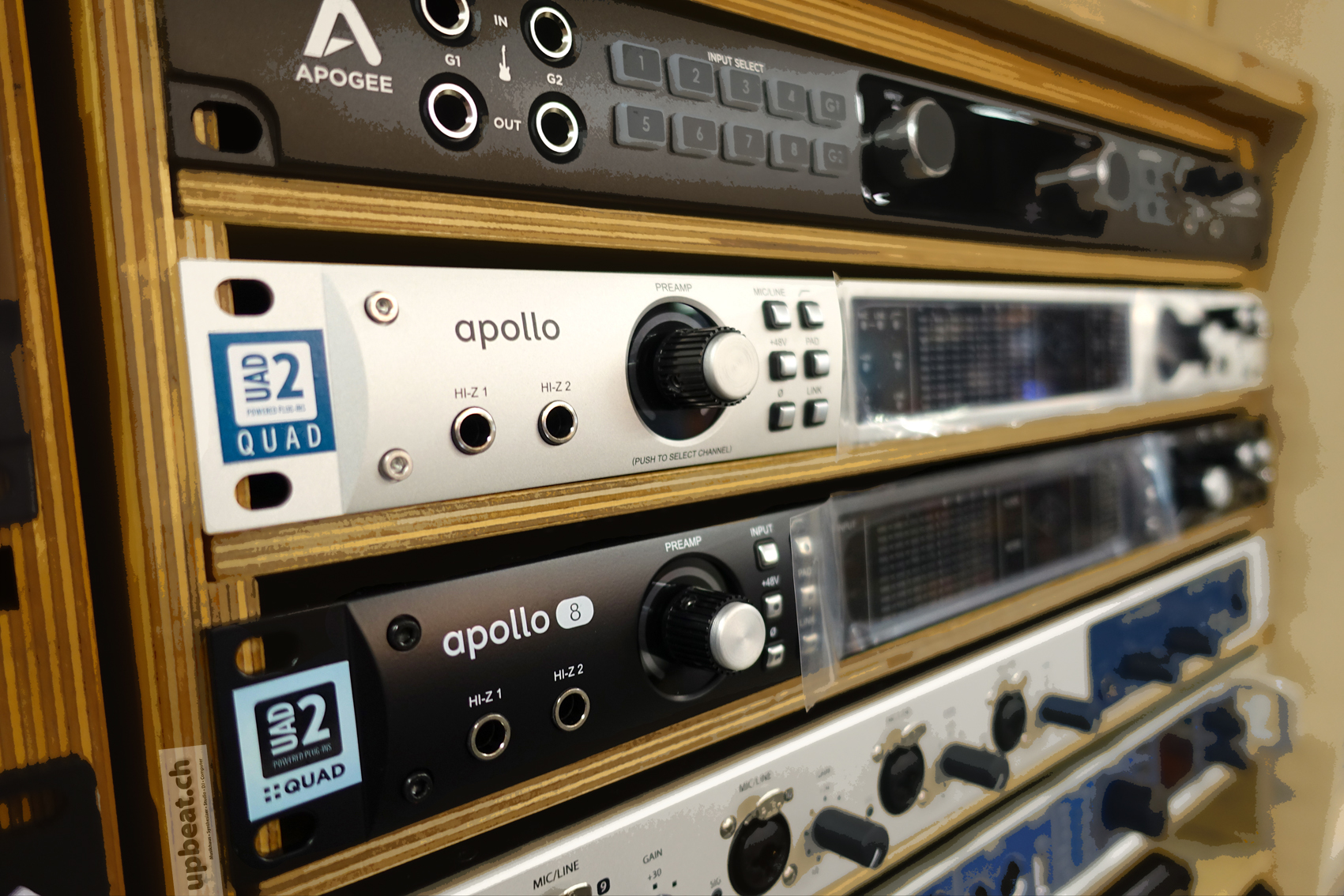 Universal Audio Apollo 8 Quad Thunderbolt2 Aktion Cable Neutrik Xlr 1 4quot Combo Jacks And Phantom Power Sound Design