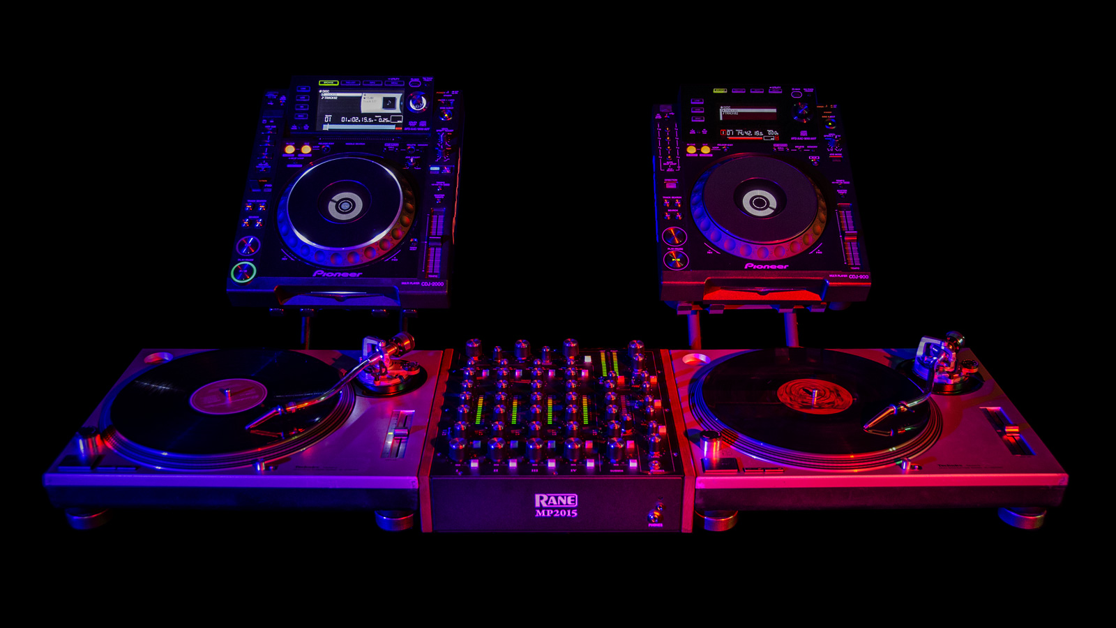 Vinyl Dj Mixer